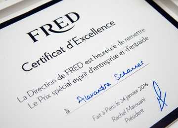 FRED Convention Retail Europe 2016  « Passion FRED »
